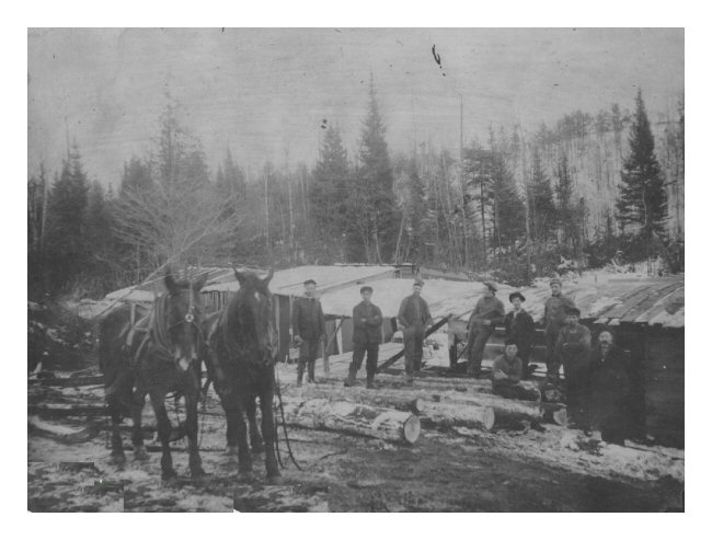 Gates Lumber Camp - 1